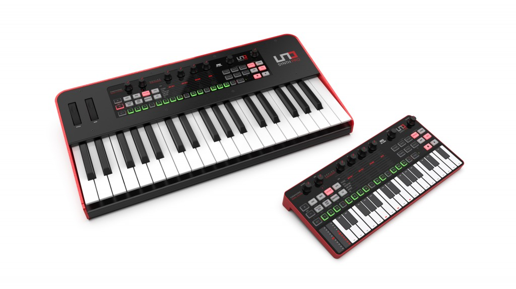 UNO Synth Pro en versions clavier et Desktop